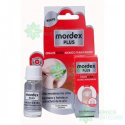 Mordex Plus Esmalte Amargo Transparente Con Pincel 9 Ml
