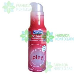 Durex Play Calor Pleasure Gel Lubricante Hidrosoluble Intimo 50 Ml